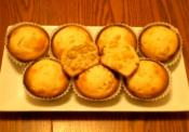 Corn Bread Muffin With Honey