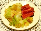 Microwave Corned Beef And Cabbage