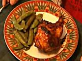 Hot Jelly Glazed Cornish Game Hens