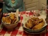 Country Fried Catfish And Hush Puppies From Rosalie Serving