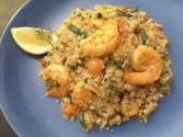 Couscous With Shrimp And Vegetables