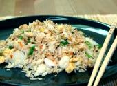 Crabmeat Fried Rice Part 2  Preparing The Dish
