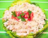 Gluten Free Creamy Crabmeat Pasta Salad