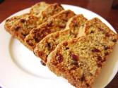 Christmas Cranberry Raisin Nut Bread