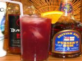 Cranberry Rum Punch Cocktail