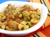 Creamy Cauliflower By Tarla Dalal