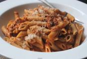 Creamy Tomato Tuna Sauce With Penne Pasta