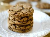 Crinkled Ginger Molasses Cookie