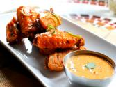 Crispy Fried Chicken Wings With Chipotle Adobo Aioli 