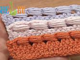 Crochet The Puff Stitch Around Posts Tutorial 39 Around Decrease Stitch