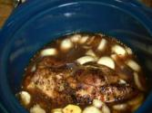 Crock Pot Recipe # 1:teriyaki Pork Shoulder, Beef & Chicken