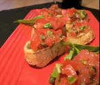 Broiled Vegetable Crostini