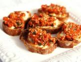 Crostini With Red Pepper Puree