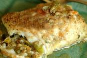 Crusty Egg Stuffed Haddock