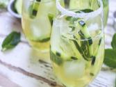 Cucumber &amp; Green Tea Mojito