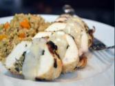 Culinary Carrie: Greek Stuffed Chicken Breast