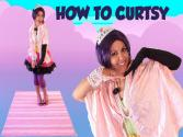 How To Curtsy - Etiquette For Kids