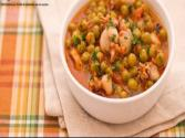 Cuttlefish With Peas ( Seppie E Piselli ) - Original Italian