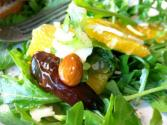 Radicchio And Orange Salad With Dates And Brie