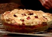 Lattice-toppedstrawberry-rhubarb Deep-dish Pie