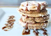 Delicious Cinnamon Roll Pancakes