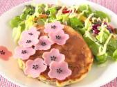 Japanese Sakura Pancake