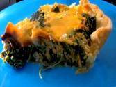 Delicious Salmon And Spinach Quiche
