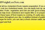 Low Cholesterol Foods Can Save Your Life