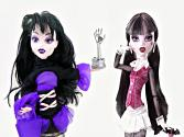 Monster High Make-up Transformation: From Draculara To Elissabat