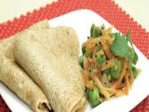 Oats Mutter Dosa (diabetic-friendly Recipe) By Tarla Dalal