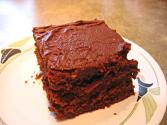 Double Chocolate Fudge Coco Cola Cake