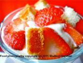 Drunken Strawberry White Chocolate Trifle