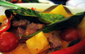 Thai Red Curry With Duck &amp; Pineapple