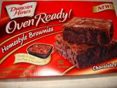 One Word Review: Duncan Hines Homestyle Brownies