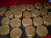 Crunchy Peanut Butter Cookies