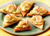 Shrimp Toast With Sesame Seeds