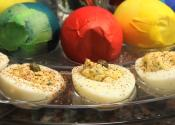 Easter Egg Salad And Devilled Eggs