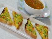 Easy Cheesy Masala Toast