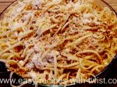 Easy Italian Lemon Spaghetti