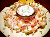 Easy Marinated Shrimp With Lemon Dill Sauce
