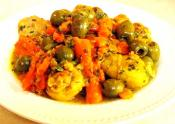 Easy Moroccan Chicken Tajine With Carrots And Olives