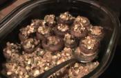 Vegan Delight Stuffed Mushrooms