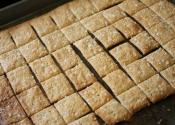 Save Money - Easy Home Made Whole Wheat Crackers - Part 1