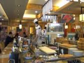 Eating Korean Sushi For Lunch In Jongro, Seoul, Korea - Conveyor Belt Sushi