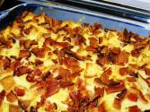 Egg And Bacon Strata
