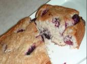 Eggless Berry Pound Cake
