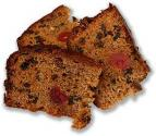Eggless Fruit Coffee Cake