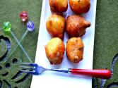 Eggless Hushpuppies - Indo Mexican Snack