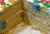 Homemade Eggless Sponge Cake