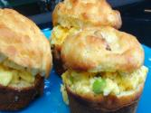 Make Ahead: Eggs Bennie Breakfast Muffins